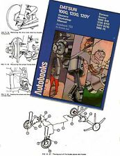 Datsun Nissan Workshop Manual 1000 1200 120Y   Sunny B10, B110, 120Y, 1968-1976