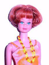 Vintage 1966 Titian Redhead American Girl Midge Barbie 1080 Japan Mint