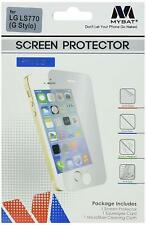 MyBat Screen Protector for LG LS770 (G Stylo) Clear