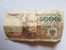 50000 Zloty 1993 Polen Poland Polska