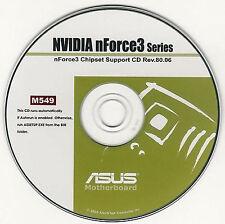 ASUS K8N or K8N-E Motherboard Drivers Installation Disk M549
