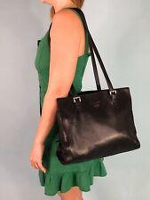 Prada Black Nylon And Leather Tote Large Handbag Sport Vintage Medium