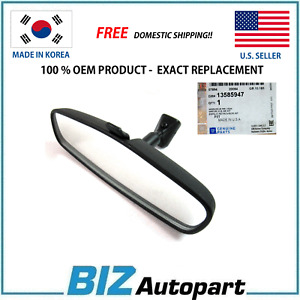 GENUINE ! INSIDE REAR VIEW MIRROR for 11-18 BUICK CADILLAC CHEVY GM OE# 13585947