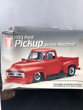 Vintage AMT Ertl 1/25 scale 1953 Ford Pickup Truck Street Machine #6341