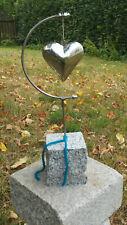 Dekoherz Rokko zum Aufklappen Herz aus Metall Gartendeko Garten Terrasse