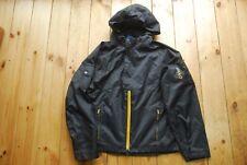 Ralph Lauren Polo Black Nylon Hooded Zip Up Jacket 16-18 Adult XXS