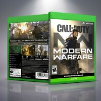Call of Duty Modern Warfare - Replacement XboxOne XB1 Cover and Case. NO GAME!!