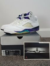 Air Jordan 5 (V) Grapes Size 11.5 2006 Release