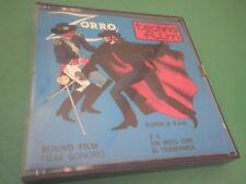 Film SUPER 8 ZORRO Un mito che si tramanda B.N. Sonoro Vintage