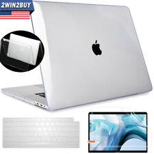 2020 For Macbook Air 13 Inch Clear Hard Case & Keyboard & Screen Protector A2179