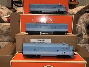 Lionel Trains 6-14512 EMD Demonstrator ABA F unit set, C-6 with master carton.