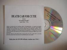 DEATH CAB FOR CUTIE : CROOKED TEETH [ PROMO CD SINGLE ] ~ PORT GRATUIT !