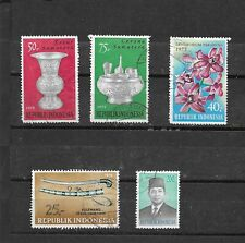 INDONESIA 1975-1976. SELECTION OF 5. VERY FINE USED. AS PER SCAN