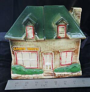 Vintage McCoy Cookie House Cookie Jar 1950's