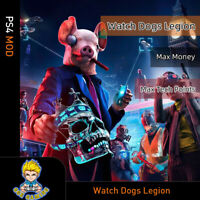 Watch Dog:Legion (PS4 Mod)- Max Money/Tech Points