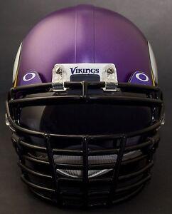 MINNESOTA VIKINGS Schutt Super Pro BIG GRILL Football Helmet Facemask Faceguard