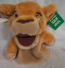 Walt Disney The Lion King II KIARA LION HAND PUPPET Plush STUFFED ANIMAL Toy NEW