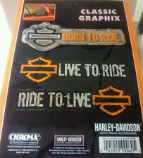 NEW Harley Davidson H-D Motorcycle Car Truck Window Decal 99060