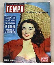 TEMPO - Una rivoluzione nella tecnica giornalistica[Rivista,16 luglio 1953 N.29]