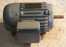 NEW REULAND 1 HP, 1750 RPM INDUCTION MOTOR, 3-PH, 230/460 VOLT