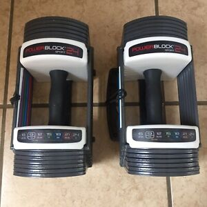 Powerblock Sport 24 Dual Dumbells (Free Shipping Canada Only)