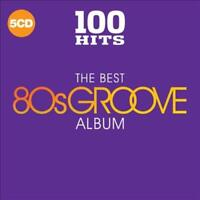 VARIOUS ARTISTS - 100 HITS: THE BEST 80S GROOVE ALBUM NEW CD