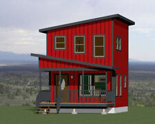 16x16 Tiny House -- 478 sq ft -- PDF Floor Plan -- Model 2I