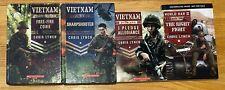 Lot 4 CHRIS LYNCH Books Vietnam  1-3World War II American History Chapter books