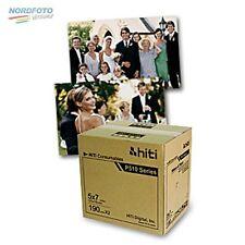 "HiTi Fotopapier / Thermopapier 13x18 (5x7"") für HiTi P510 S/K 2x 190 Blatt"