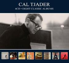 Cal Tjader EIGHT (8) CLASSIC ALBUMS Plays Mambo GOES LATIN New Sealed 4 CD