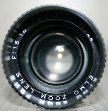 Elmo 1:1.5 18 - 28mm Zoom Cine Projection Projector Lens