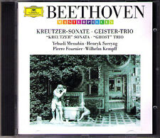 MENUHIN KEMPFF SZERYNG: BEETHOVEN Violin Sonata 9 Kreutzer Ghost Piano Trio CD