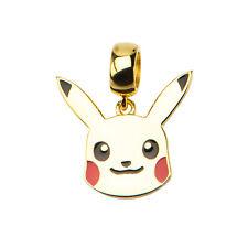 Pokemon Pikachu Sterling Silver Dangle Charm