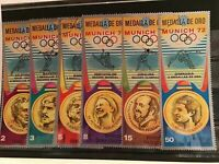 Rep de Guinea Olympic medals cancelled stamps  R21882
