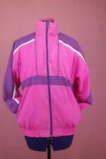 Vintage 80er Damen Sportjacke Trainingsjacke MARS SPORTS 80s windbreaker pink 38
