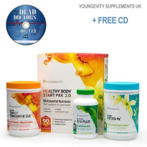 Youngevity Healthy Start Pack: Beyond Tangy Tangerine2.0  OsteoFx Efa 2 DAY POST