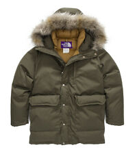 NWT TNF THE NORTH FACE PURPLE LABEL 65/35 LONG SEROW DOWN PARKA RARE MSRP $850 S