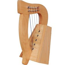 More details for 5,6,7,8 string harps with strings and tuning key