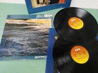 "SANTANA MOONFLOWER - 2 X LP VINILO 12"" 1977 CBS VG/VG SPAIN EDITION GATEFOLD"
