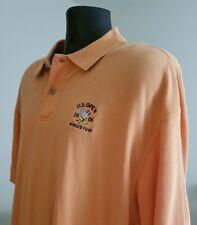 Ashworth Us Open 2006 Golf Polo Shirt - Winged Foot Xl Light Orange