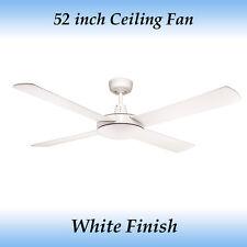 Genesis 52 inch 4 Blade White Ceiling Fan