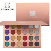 Mineral Pressed Glitter Eyeshadow Palette Professional Highly Pigmente US STOCK