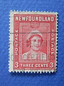 "Newfoundland #246 used NG ""Queen Elizabeth"", wife of King George VI  CV=$1.50"