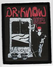 DR KNOW PATCH / SPEED-THRASH-BLACK-DEATH METAL