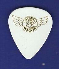 REO Speedwagon Dave Amato White Guitar Pick Classic Rock Item Free Shopping