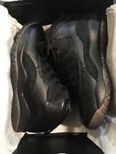 Brand New Jordan 10 OVO Black 10.5