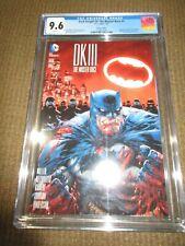 DK III the Master Race #1 Kirkham Variant Rare CGC 9.6 NM+ Beauty Wow Batman JP