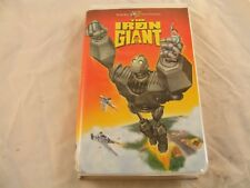 The Iron Giant (Vhs, Clamshell) Warner Bros.