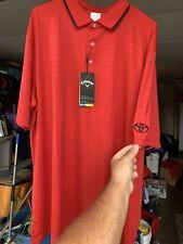 Antigua Dri Fit Toyota Golf Polo Red Small
