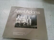 ANSEL ADAMS, CENTER FOR PHOTOGRAPHIC ART JULY 18 THROUGH SEPT 1, 1995